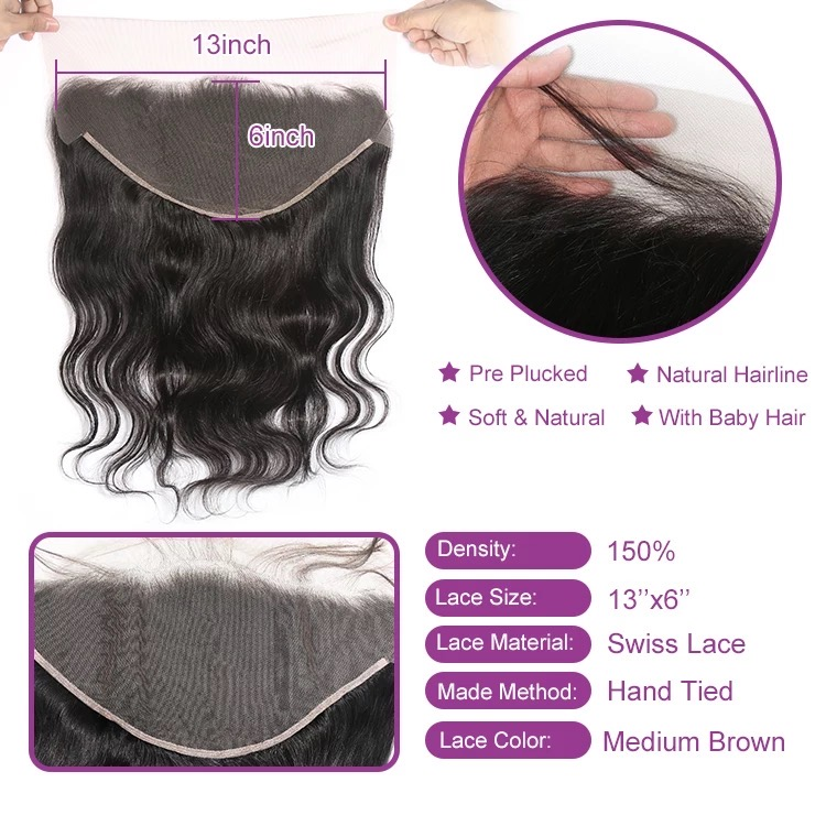 13x6 Lace Frontal